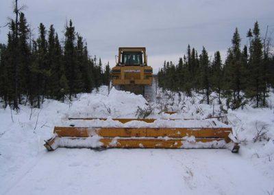 Ice road drag